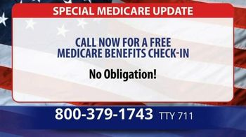 Medicare Advantage Hotline TV Spot, 'Special Update: Save up to $1,200' - Thumbnail 4