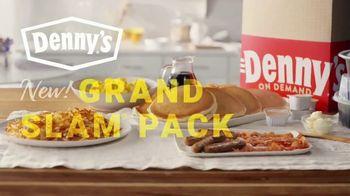 Denny's Grand Slam Pack TV Spot, 'Breakfast for Dinner' - Thumbnail 8