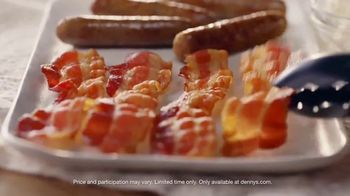 Denny's Grand Slam Pack TV Spot, 'Breakfast for Dinner' - Thumbnail 6