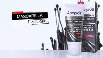 Asepxia Peel Off Mask TV Spot, 'Carbón activado' [Spanish] - Thumbnail 3