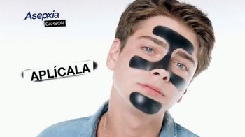 Asepxia Peel Off Mask TV Spot, 'Carbón activado' [Spanish]