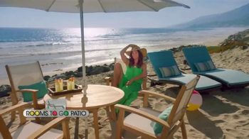 Rooms to Go Patio TV Spot, 'Stylish Summer' Featuring Cindy Crawford - Thumbnail 1