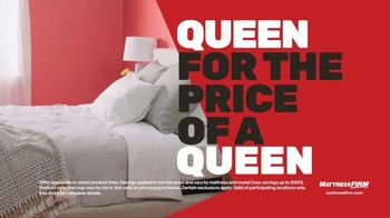 Mattress Firm TV Spot, 'Summer: King for Queen and Free Adjustable Base' - Thumbnail 1