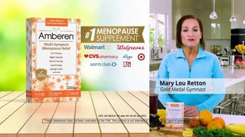 Amberen Menopause Relief TV Spot, 'Relieves Twelve Menopause Symptoms' Featuring Mary Lou Retton - Thumbnail 9