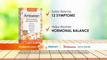 Amberen Menopause Relief TV Spot, 'Relieves Twelve Menopause Symptoms' Featuring Mary Lou Retton - Thumbnail 5