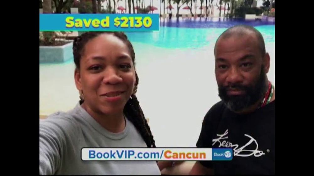 BookVIP TV Commercial, 'All-Inclusive Cancun Package'