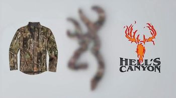 Browning Hell's Canyon Collection TV Spot, 'Weather or Not' - Thumbnail 6