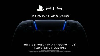 PlayStation TV Spot, \'PS5: The Future of Gaming\'