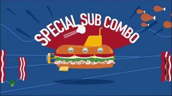 Pizza Boli's Special Sub Combo TV Spot, 'Dive'