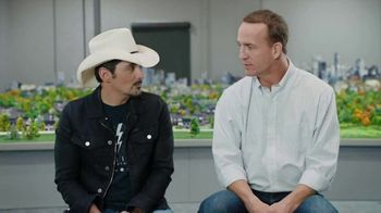 Nationwide Insurance SmartRide TV Spot, 'Drivers of Peytonville' Feat. Brad Paisley, Peyton Manning
