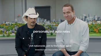 Nationwide Insurance SmartRide TV Spot, 'Drivers of Peytonville' Feat. Brad Paisley, Peyton Manning - Thumbnail 10