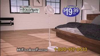 Bell + Howell My Foldaway Fan TV Spot, 'Anywhere You Need It' - Thumbnail 9