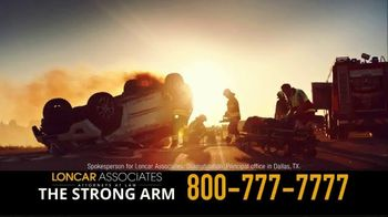 Loncar & Associates TV Spot, 'Car or Truck Wreck'
