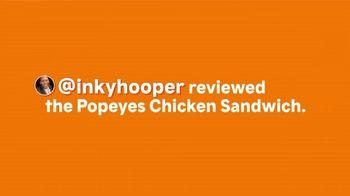 Popeyes Chicken Sandwich TV Spot, 'Inkyhooper' - Thumbnail 1