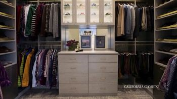 California Closets TV Spot, 'Reimagine Your Closet: 15% Off' - Thumbnail 3