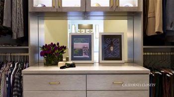California Closets TV Spot, 'Reimagine Your Closet: 15% Off' - Thumbnail 4