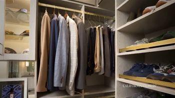 California Closets TV Spot, 'Reimagine Your Closet: 15% Off' - Thumbnail 6
