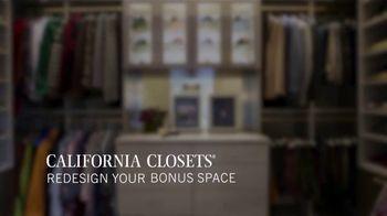 California Closets TV Spot, 'Reimagine Your Closet: 15% Off' - Thumbnail 9
