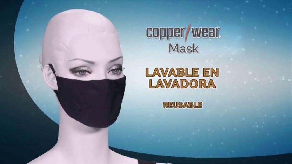 CopperWear Mask TV Commercial, 'Reutilizable'