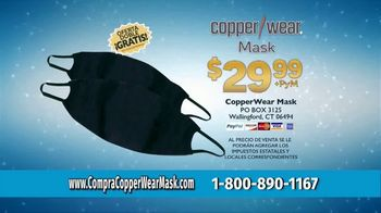 CopperWear Mask TV Spot, 'Reutilizable' [Spanish] - Thumbnail 8