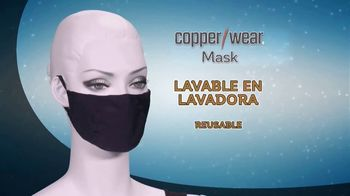 CopperWear Mask TV Spot, 'Reutilizable' [Spanish]