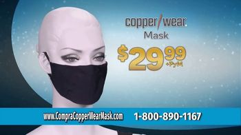 CopperWear Mask TV Spot, 'Reutilizable' [Spanish] - Thumbnail 7