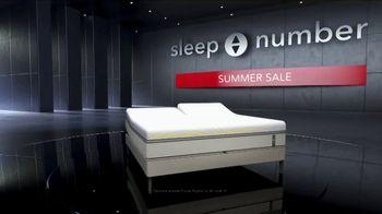 Sleep Number Summer Sale TV Spot, 'Save $1,000 and Zero Percent Interest' - Thumbnail 1
