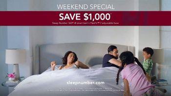 Sleep Number Summer Sale TV Spot, 'Save $1,000 and Zero Percent Interest' - Thumbnail 7