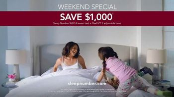 Sleep Number Summer Sale TV Spot, 'Save $1,000 and Zero Percent Interest' - Thumbnail 9