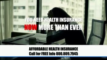 The Affordable Health Insurance Hotline TV Spot, 'Time of Crisis' - Thumbnail 1