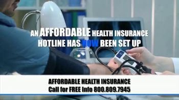 The Affordable Health Insurance Hotline TV Spot, 'Time of Crisis' - Thumbnail 2