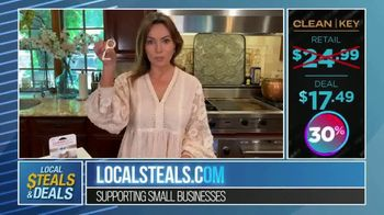 Local Steals & Deals TV Spot, 'Clean Key' Featuring Lisa Robertson - Thumbnail 9
