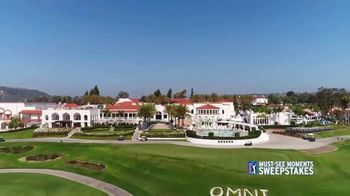 PGA TOUR Must-See Moments Sweepstakes TV Spot, 'Grand Prize Winner: Historic Old Town' - Thumbnail 5