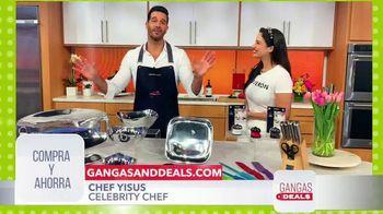 Gangas & Deals TV Spot, 'Chef Yisus: Nambé y Emeril Lagasse' con Aleyda Ortiz [Spanish]