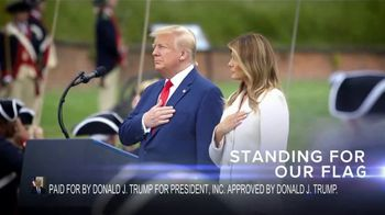 Donald J. Trump for President TV Spot, 'Kneel' - Thumbnail 10