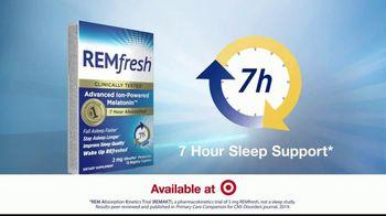 REMfresh TV Spot, 'Want to Sleep Better?' - Thumbnail 6