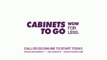 Cabinets To Go First Time for Everything Sale TV Spot, 'Time to Wow' - Thumbnail 6