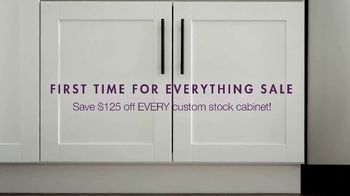 Cabinets To Go First Time for Everything Sale TV Spot, 'Time to Wow' - Thumbnail 2
