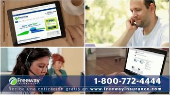 Freeway Insurance TV Spot, 'Ahorra con Freeway: $839 dólares' [Spanish] - Thumbnail 2