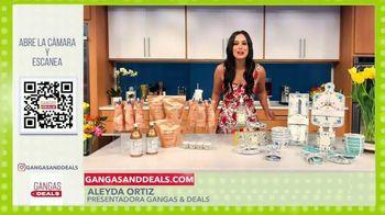 Gangas & Deals TV Spot, 'Deluge Cosmetics' con Aleyda Ortiz Spanish]
