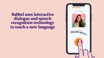 Babbel TV Spot, 'Interactive Dialogue' - Thumbnail 3
