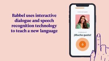 Babbel TV Spot, 'Interactive Dialogue' - Thumbnail 4