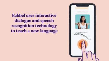 Babbel TV Spot, 'Interactive Dialogue' - Thumbnail 5