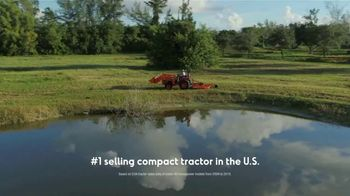 Kubota Compact Tractors TV Spot, 'Tackle Any Job All Year Round'