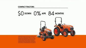 Kubota Compact Tractors TV Spot, 'Tackle Any Job All Year Round' - Thumbnail 8