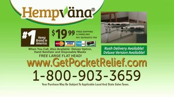 Hempvana Pocket Relief TV Spot, 'Pain, Pain, Go Away' - Thumbnail 10