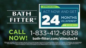 Bath Fitter Stimulus Sale TV Spot, 'Peace of Mind: 24 Months No Interest' - Thumbnail 9