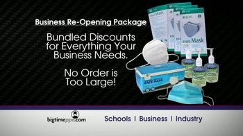 BigtimePPE TV Spot, 'Leader: Business Re-Opening Package' - Thumbnail 4