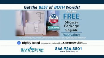 Safe Step TV Spot, 'Accidental Fall: Free Shower Package' - Thumbnail 9