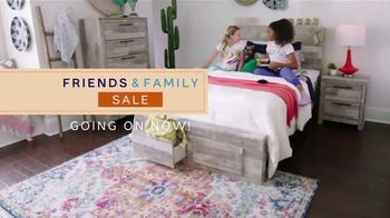 Ashley HomeStore Friends & Family Sale TV Spot, '25 Percent: Buy Now, Pay Later'
